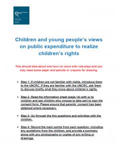Consultation for children
