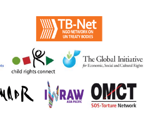 TB-Net engagement in the Informal Meeting of Chairs of the Human Rights Treaty Bodies