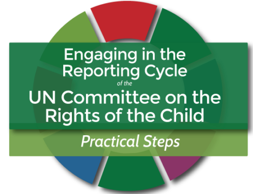 Find out how to concretely and effectively engage with the Committee on the Rights of the Child through our CRC Reporting Minisite!