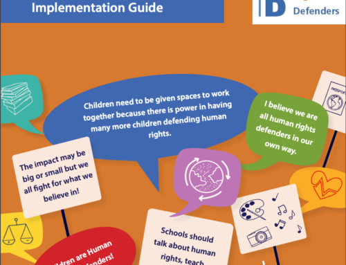 The Rights of Child Human Rights Defenders Unpacked: The New Implementation Guide!